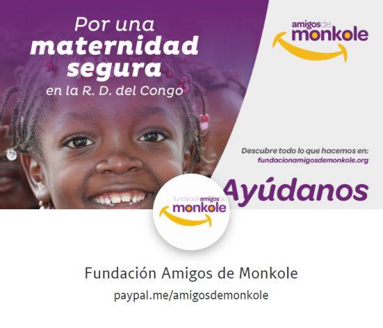 PayPal Fundación Amigos de Monkole